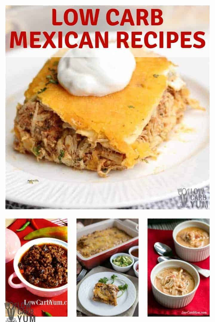 Low Carb Mexican Recipes from Low Carb Yum