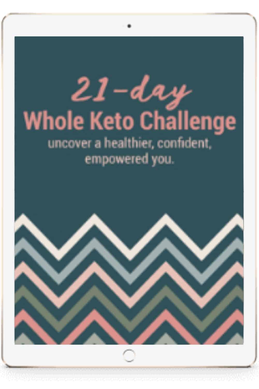 21-day Whole Keto Challenge on iPad