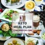 TEXT 3 Day Keto Meal Plan LOWCARBYUM.COM