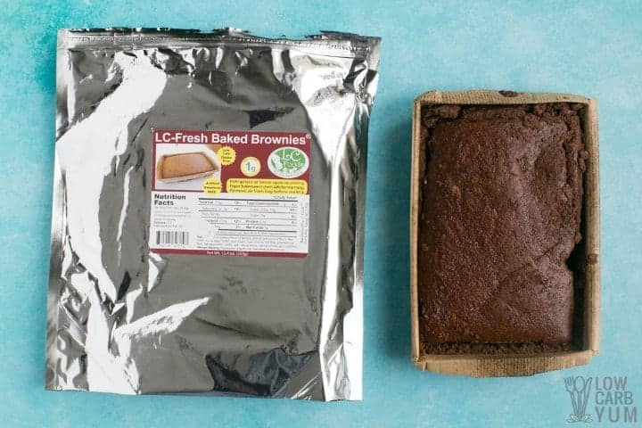 LC Foods Fresh Baked Chocolate Brownies