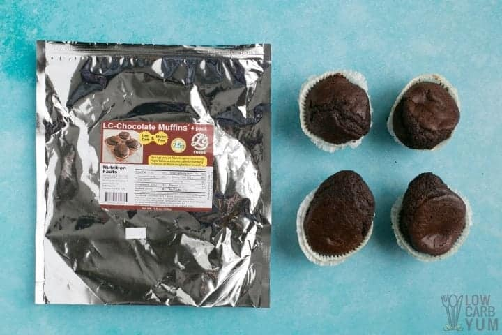 LC Foods Low Carb Chocolate Muffins