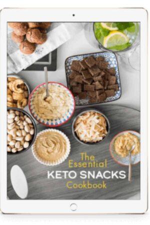 essential keto snacks cookbooks
