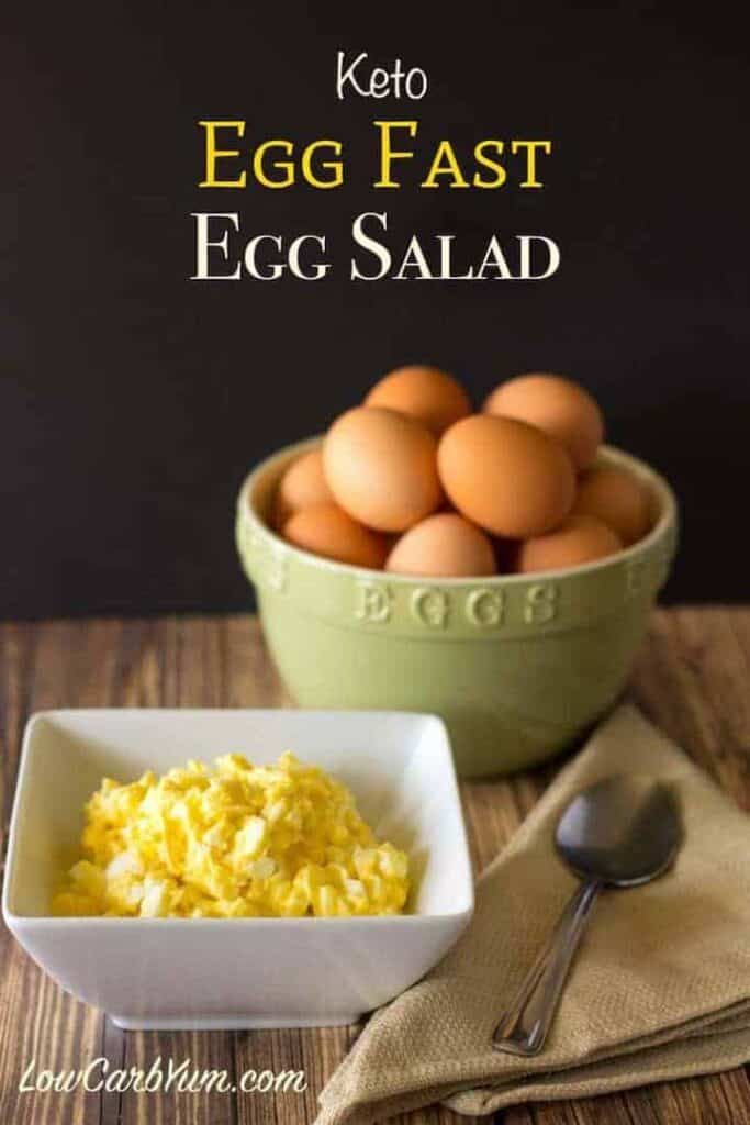 Keto Egg Salad Recipe