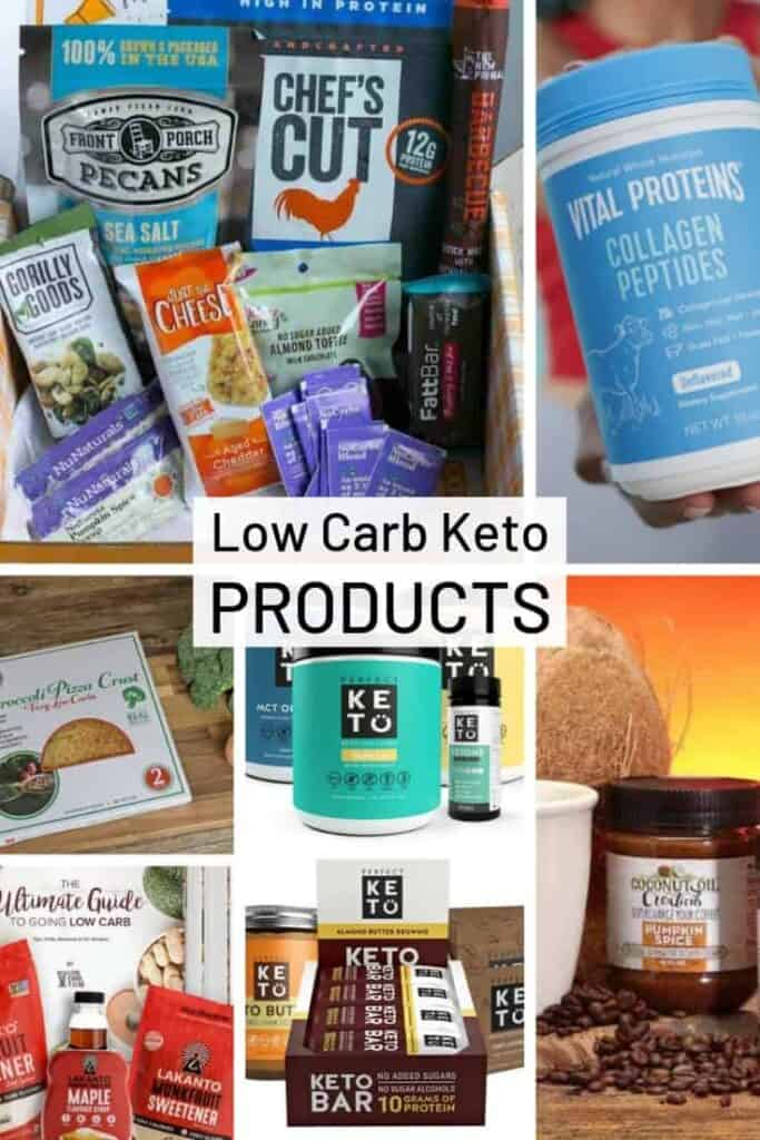 Low Carb Keto Products