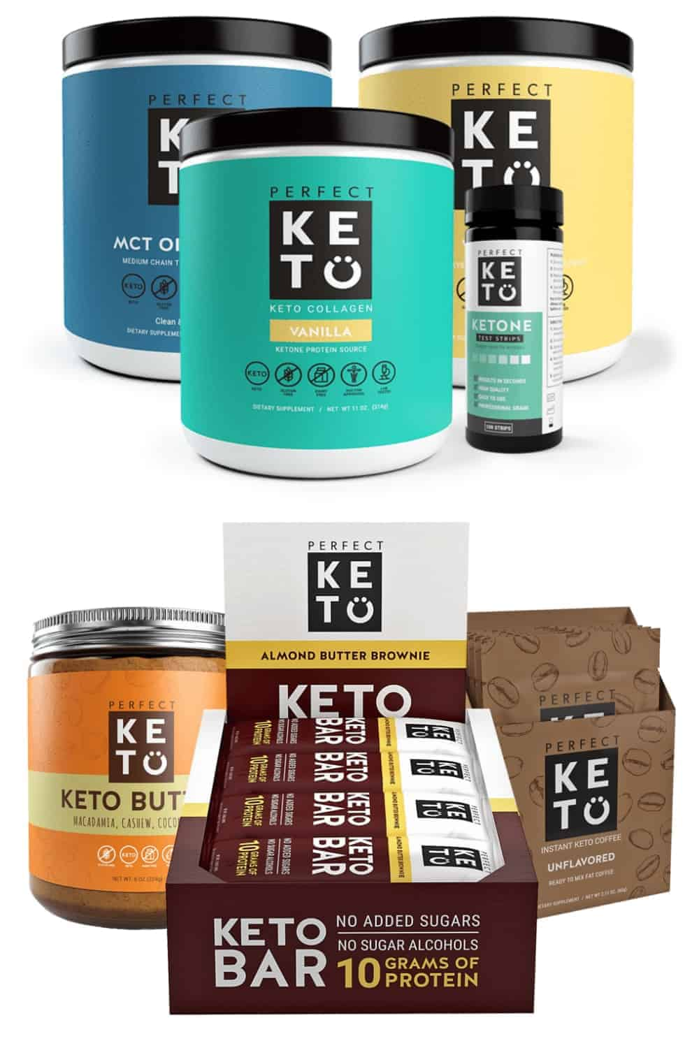 Perfect Keto Keto Collagen Flavors