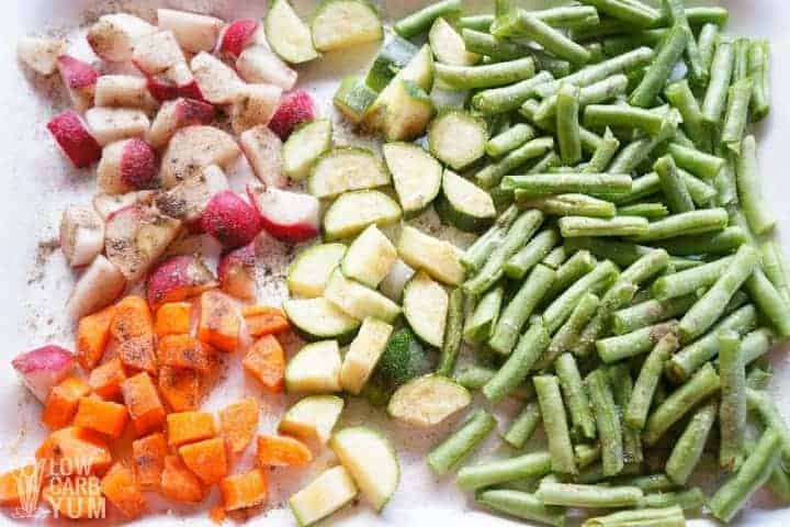 seasoned vegetables