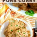 Slow cooker pork curry recipe