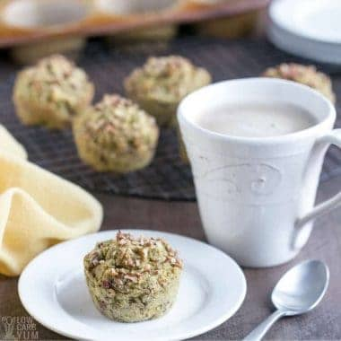 healthy banana muffins with glass of milk