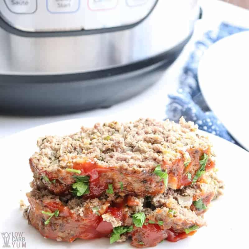 stacked instant pot meatloaf