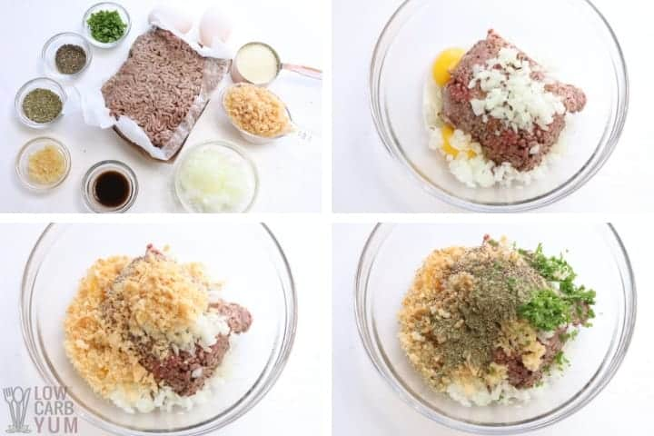 keto meatloaf ingredients