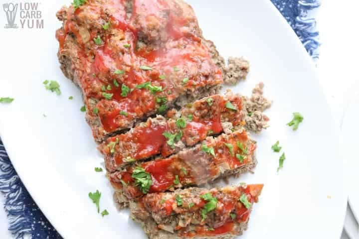 sliced pressure cooker meatloaf
