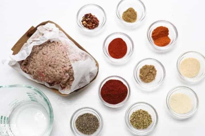 taco meat ingredients
