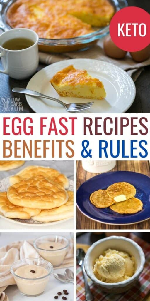 Egg Fast Recipes, Benefits, & Rules