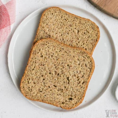keto bread machine recipe featured image