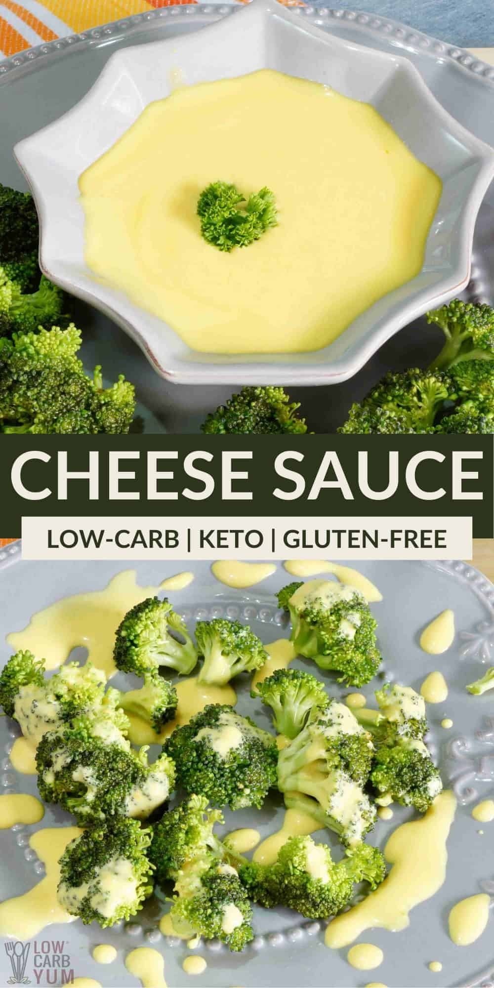 cheese sauce pinterest image