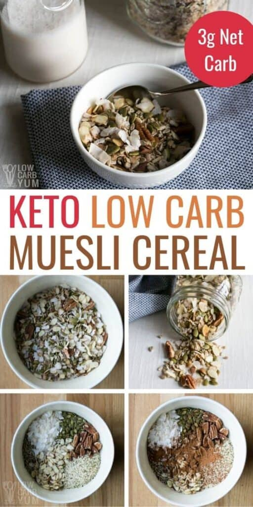 low carb muesli keto cereal