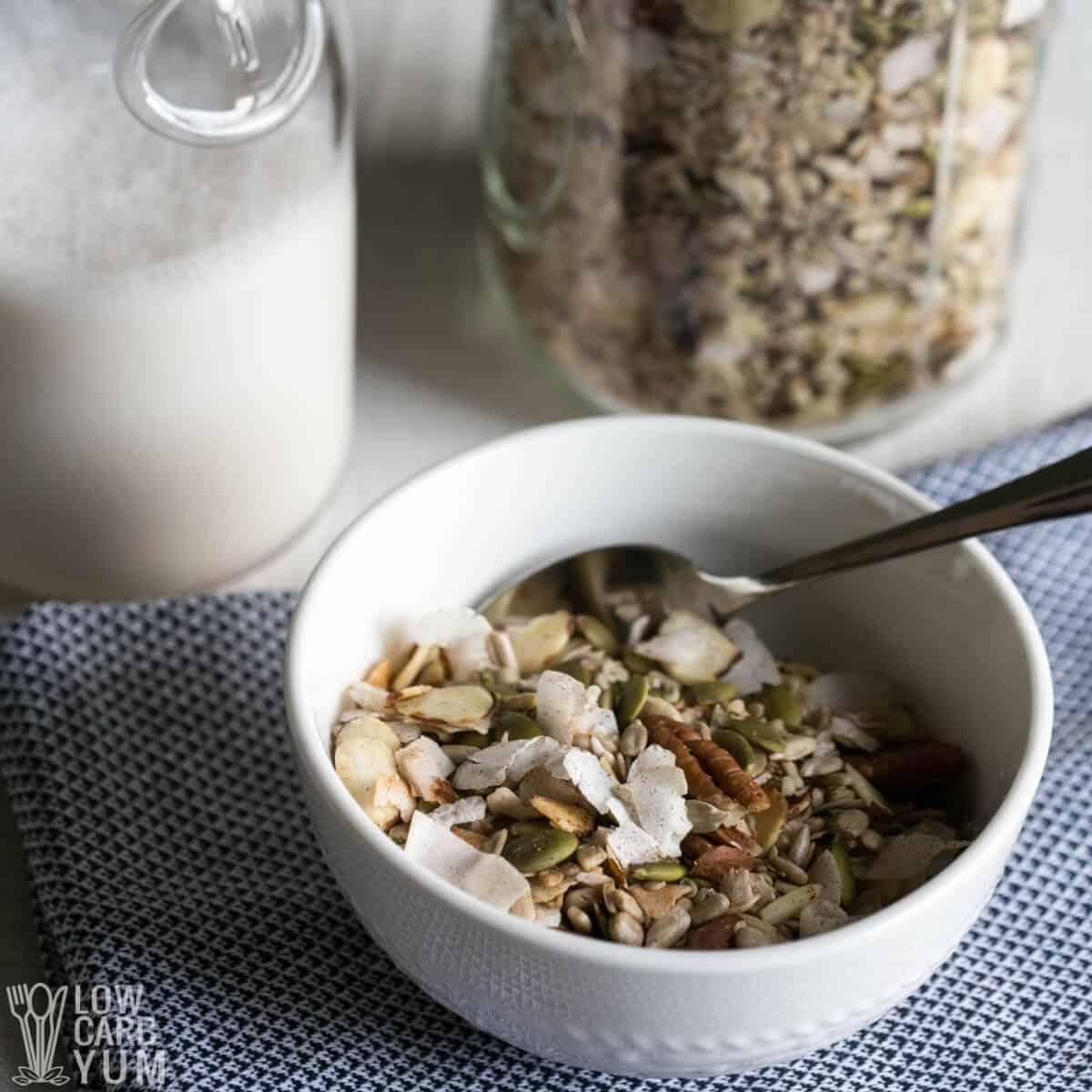 low carb muesli keto cereal recipe