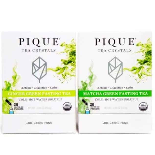Pique Tea Fasting Pair