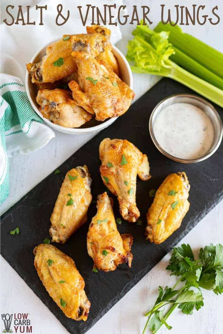 salt and vinegar wings recipe