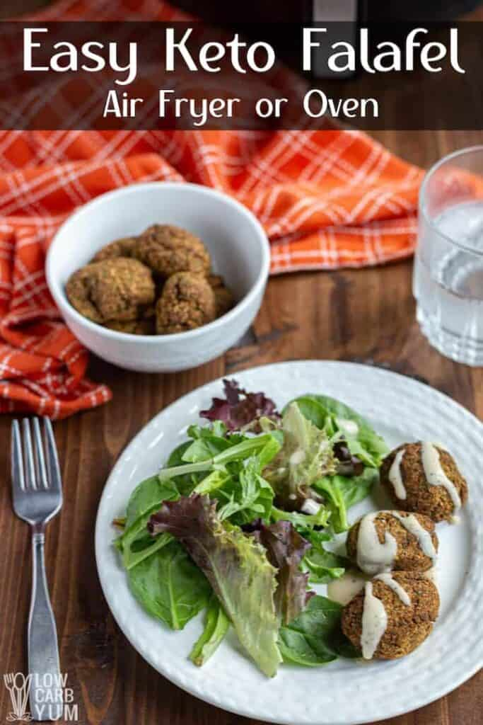 easy keto falafel recipe