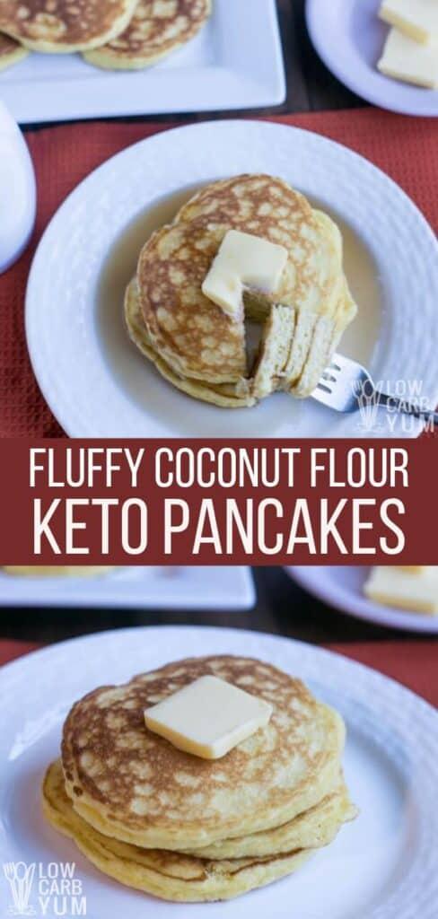 keto coconut flour pancakes recipe