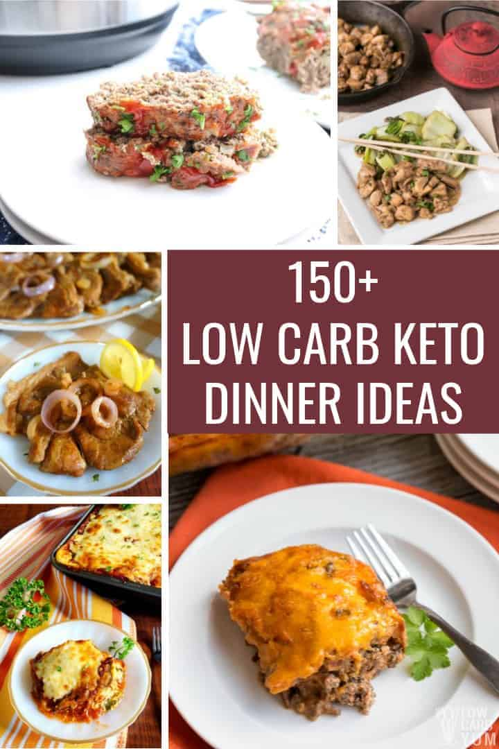 165 Keto Dinner Ideas For Easy Low Carb Meals Low Carb Yum