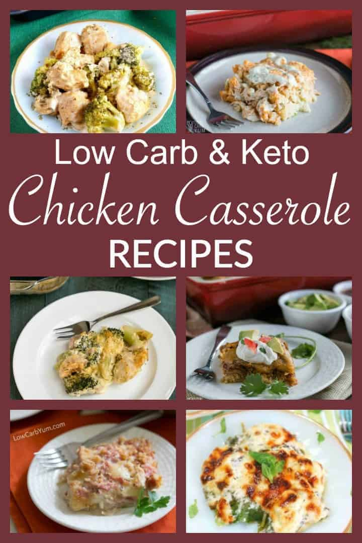 keto low carb chicken casserole recipes