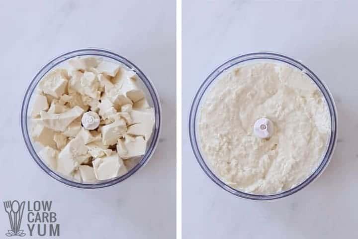 processing silken tofu