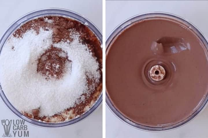 processing in cocoa sweetener and vanilla