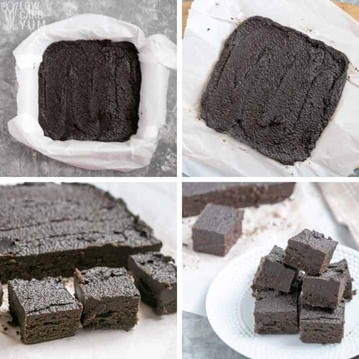 cutting set fudge into squares