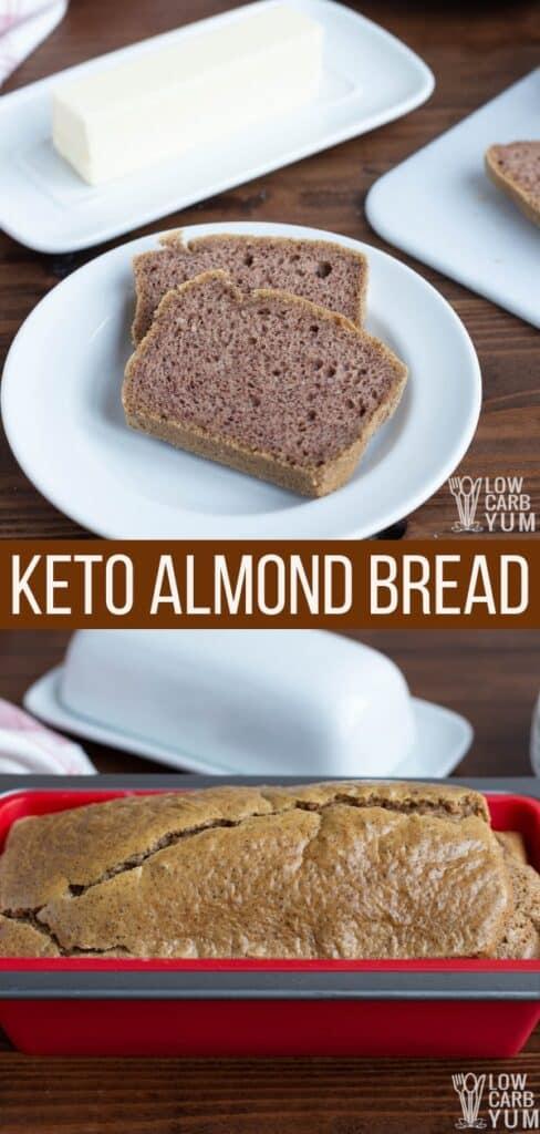 keto almond bread recipe