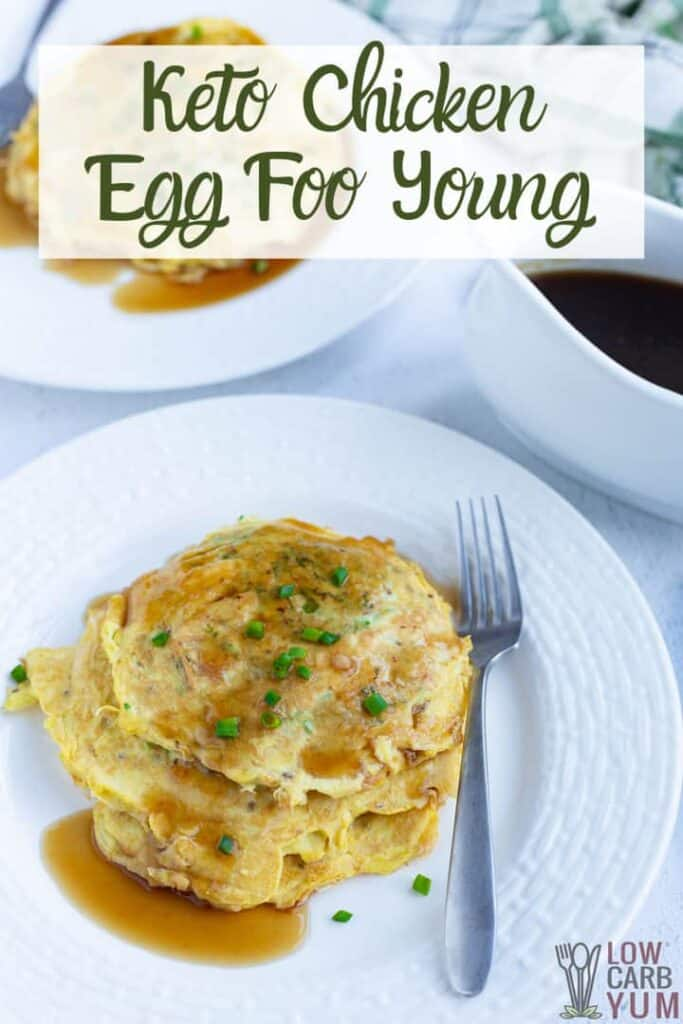 keto chicken egg foo young