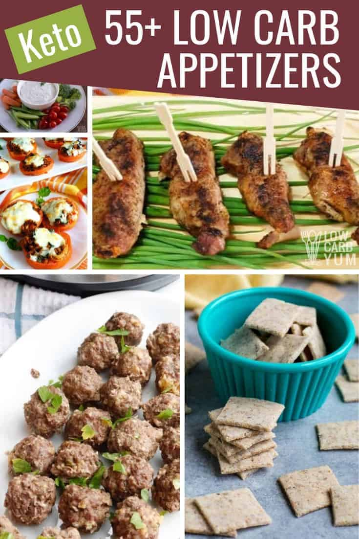 keto low carb appetizer recipes