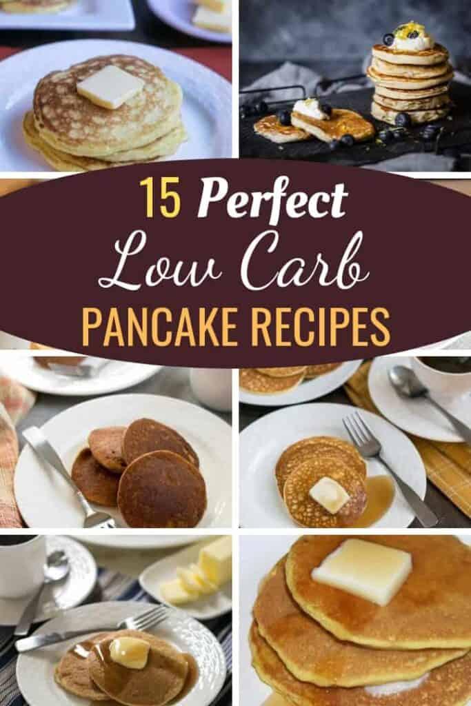 low carb pancake recipes