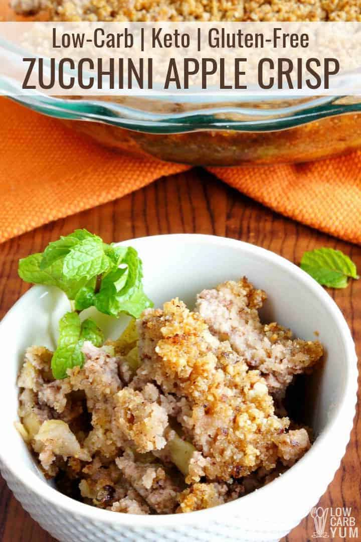 zucchini apple crisp