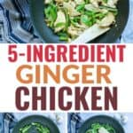 5 Ingredient Ginger Chicken