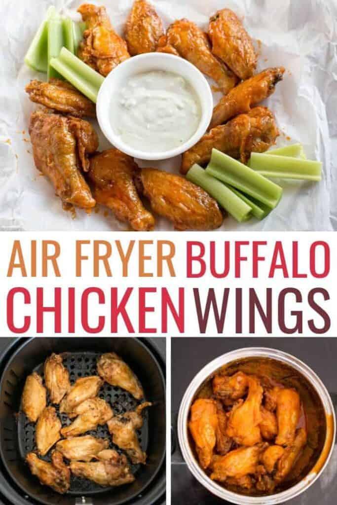 air fryer buffalo wings recipe