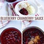 blueberry cranberry sauce