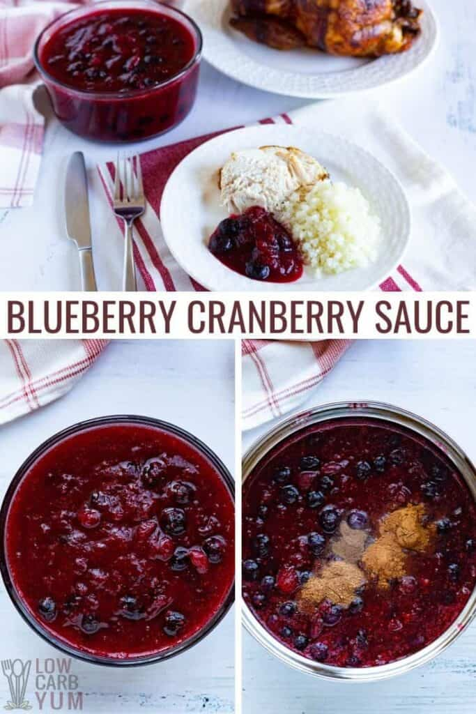 blueberry cranberry sauce