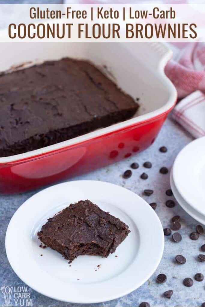 coconut flour brownies recipe