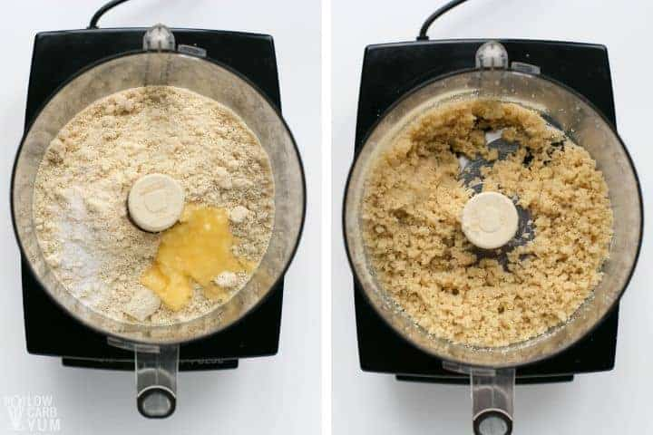 crust ingredients in food processor