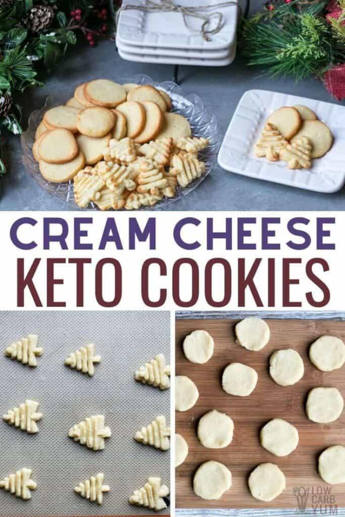 low carb keto cream cheese cookies recipe