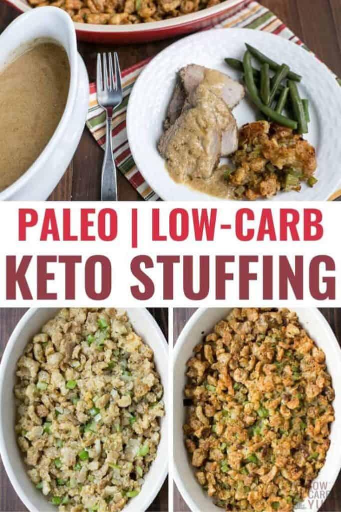 keto low carb stuffing recipe