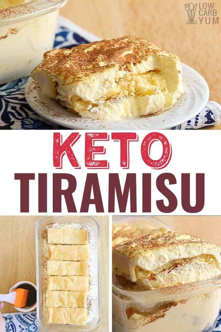 keto low carb tiramisu