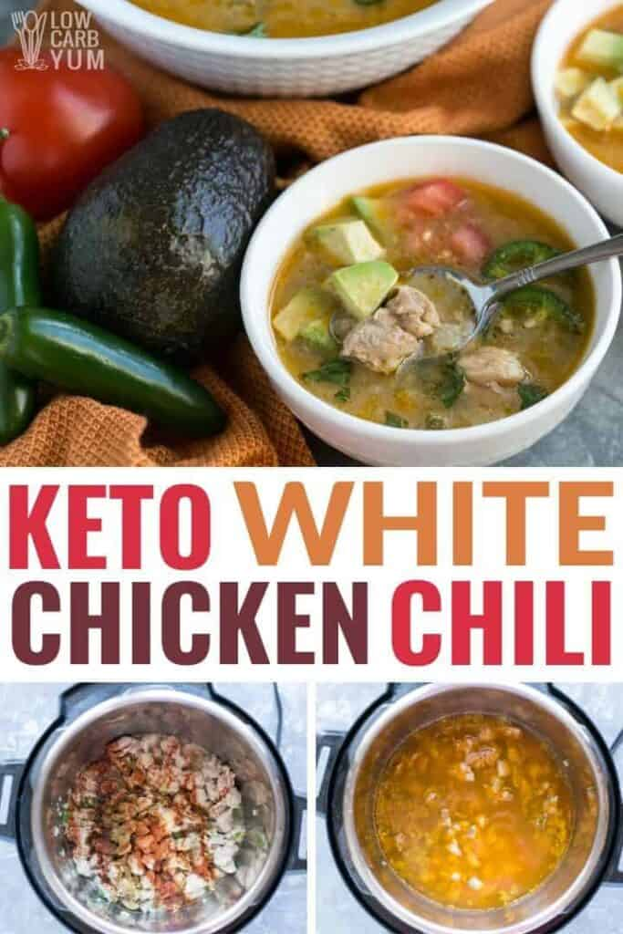 keto white chicken chili recipe