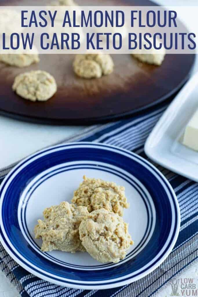 paleo keto almond flour biscuits recipe