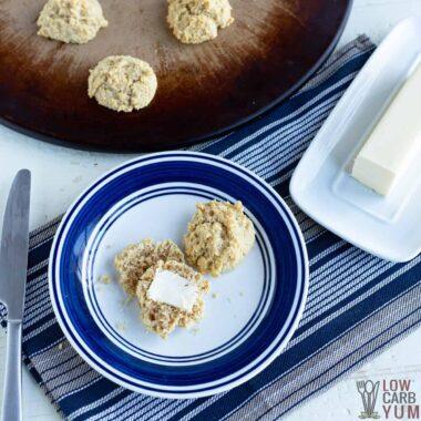paleo keto almond flour biscuits