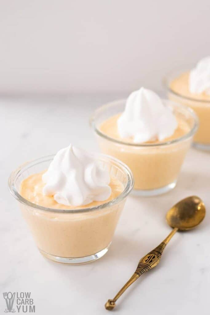 sugar free banana pudding recipe