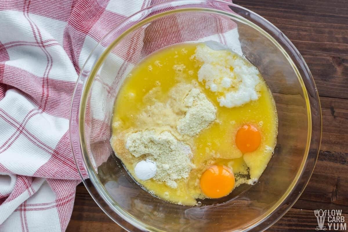ingredients in medium mixing bowl