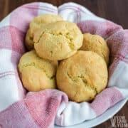 paleo keto almond flour biscuits recipe